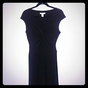 White House Black Market Black Dress Size 8